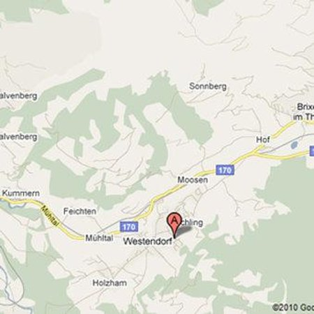 Bergsonne Wellness Appartements: Map