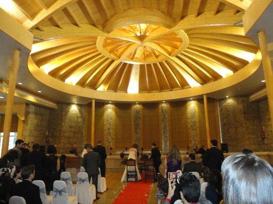 Balneario de Mondariz: Salón