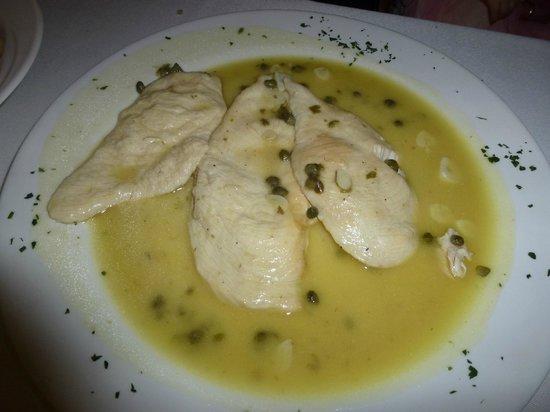 La Piazza di Caruso: Caruso's Chicken Piccata