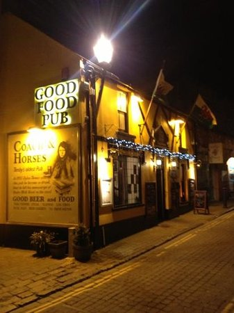 The Coach and Horses: coach and horses