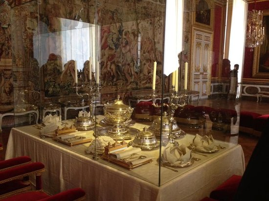 the royal dining room picture of chateau de versailles