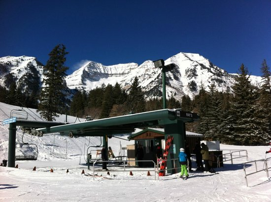 Sundance Resort: No lines on Sunday morning!