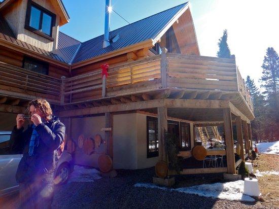 Le Domaine du Lac Saint Charles: Pretty cabin