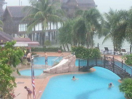 Langkawi Lagoon Resort: pools