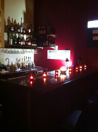 Zaika Indian Cuisine: the full bar