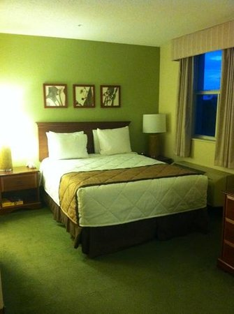 Extended Stay America - Miami - Airport - Doral - 25th Street: our queen size bed with city view