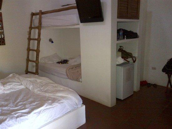 Posada Palo Torcido: Comoda habitación para cuatro personas