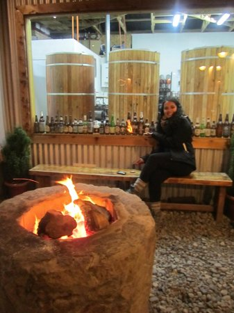 Baguales Brewery + Restaurant: Fogon