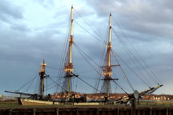 Capt's Waterfront Grill : The 171 foot Friendship