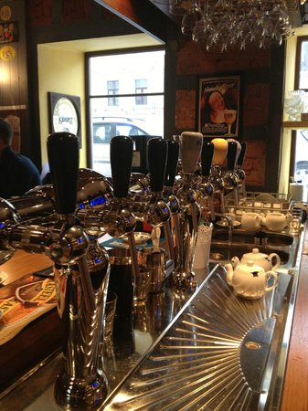 Trappist: Bar with draft equipment from Antoine Belgium and Franke