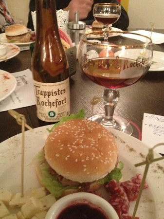 Food paring with Trappist beer