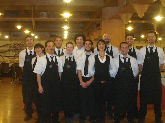 Osteria della Posta : staff di sala