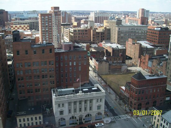 Radisson Hotel Baltimore Downtown-Inner Harbor: View from room
