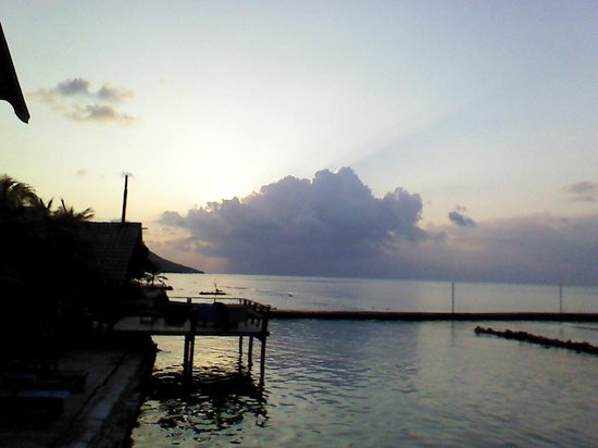 Reef House Resort: Sunrise!