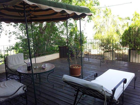 Hotel Mitzpe Hayamim: Terrace