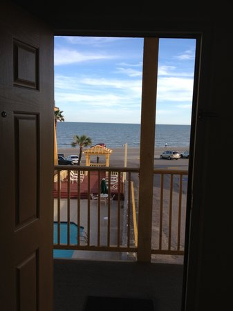 La Quinta Inn Galveston East Beach: View from my room