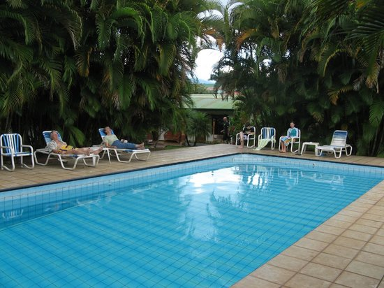 Hotel La Rosa de America : The pool