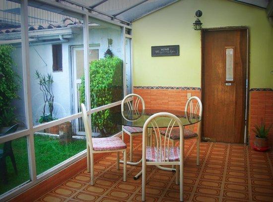 Casa Hotel Zuetana: Solarium