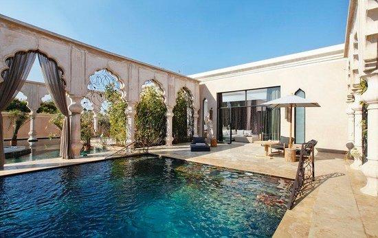 Palais Namaskar : Pool Suite