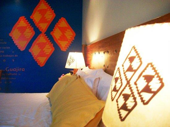 Casa Hotel Zuetana: Habitacion Guajira