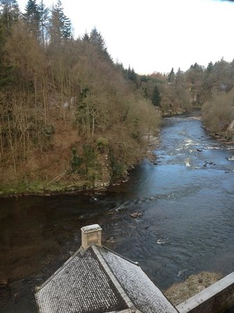 New Lanark Mill Hotel: View from bedroom