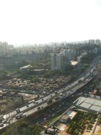 Mumbai from the 34th floor