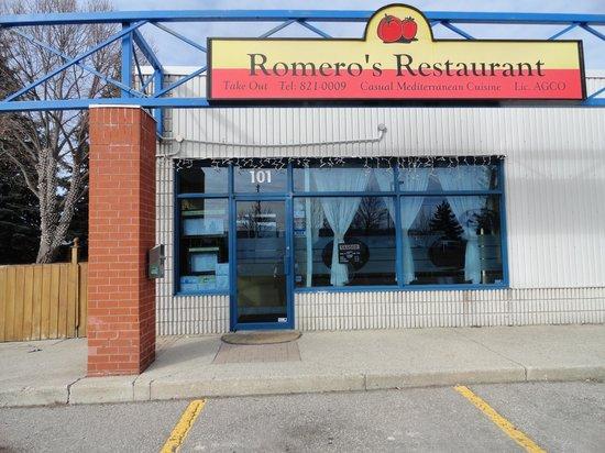 Romero's Restaurant: Outside Front