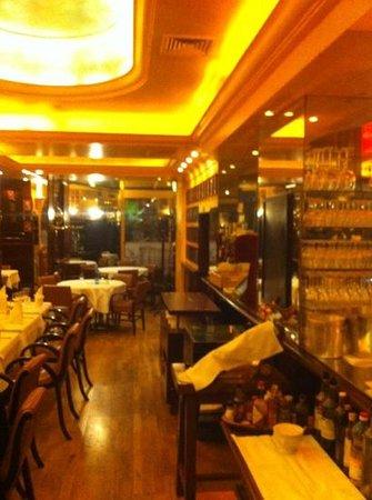 Brasserie du Grand Café de l'Opéra : intérieur