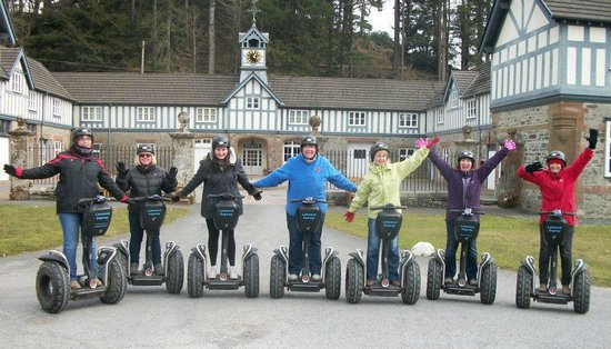 Lakeland Segway: Extreme girls sports club