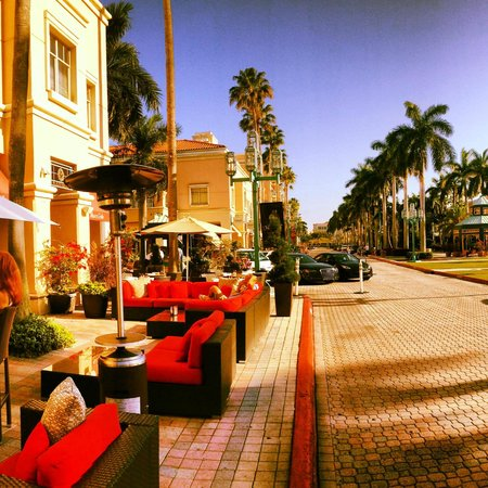 Mizner Park: Instagrammed Pic; right outside of Max's Grille