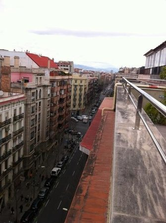Hotel Aranea: rooftop views