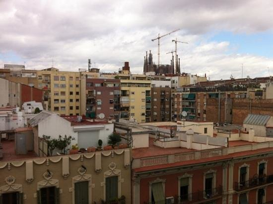 Hotel Aranea: another rooftop view