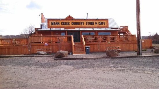 Mann Creek Store & Cafe: Mann Creek Cafe