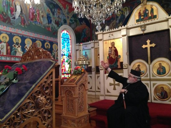 Saint Sava's Serbian Orthodox Church: Interior Serbian Church