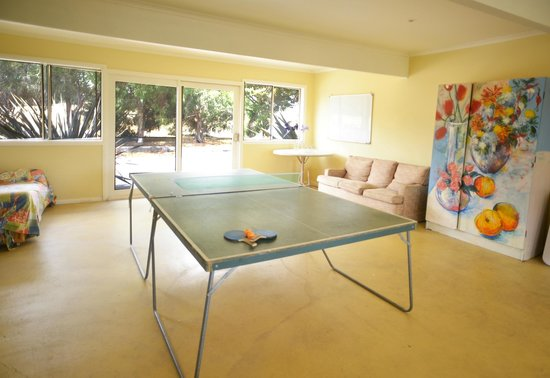 Table tennis room Picture of Red Rock Lodge Sunbury TripAdvisor