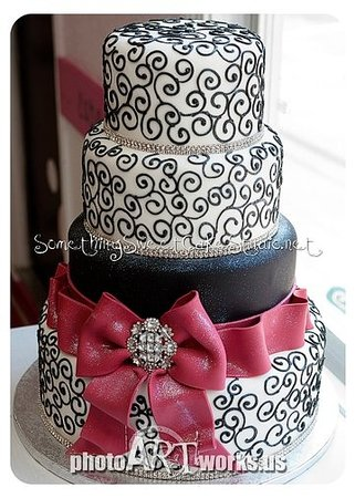 Something Sweet: Wedding cake