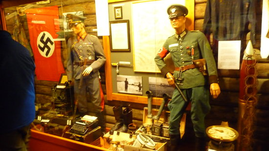 Tirpitz Museum: One of the excellent Displays in the Museum