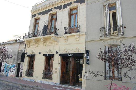 San Telmo Luxury Suites: exterior of hotel