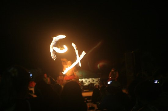 Chief's Luau at Sea Life Park: Polynesian Torch Dance