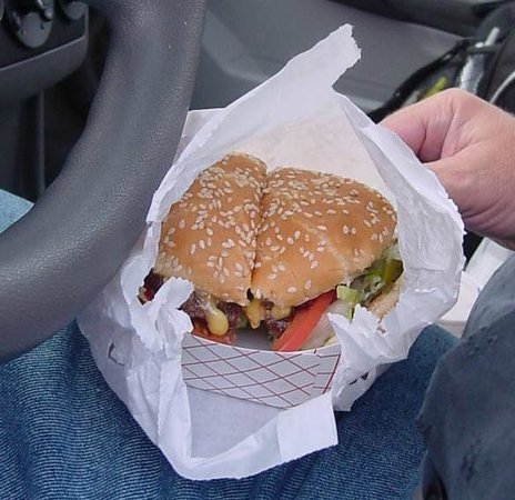 Ice-Burg Drive-In: Ice Burg Double Cheeseburger