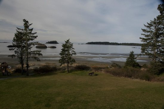 BEST WESTERN Tin Wis Resort: the view from our balcony ( room 705)