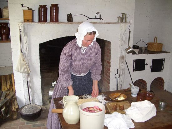 Cooking The Old Fashioned Way Picture Of Historic