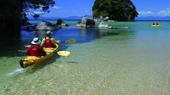 Nelson, Nueva Zelanda: Kayaking in the Abel Tasman