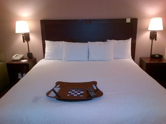 Hampton Inn Boston / Cambridge: Bed