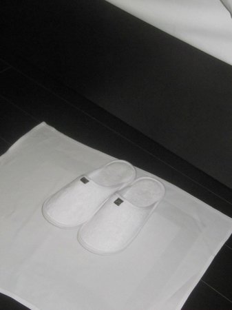 SO Sofitel Bangkok: Little touches like putting your slippers out at night