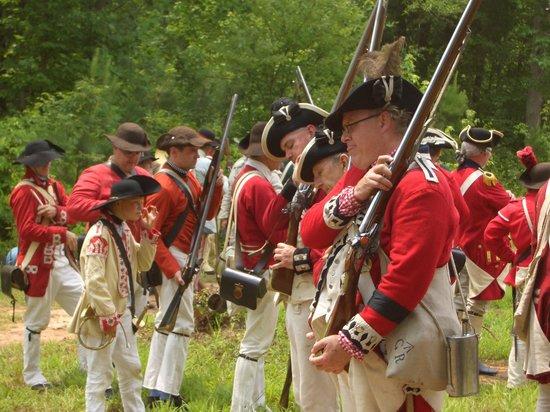 Historic Brattonsville: Loyalists preparing
