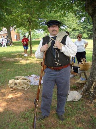 Historic Brattonsville: Have gun will travel