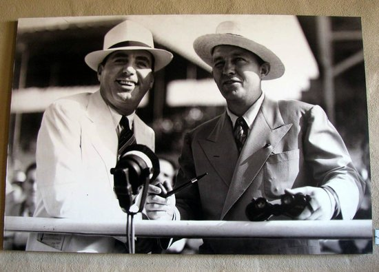 Del Mar Race Track: Founders, Pat O'Brien and Bing Crosby