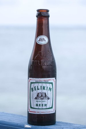 Blackbird Caye Resort: The Beer of Belize