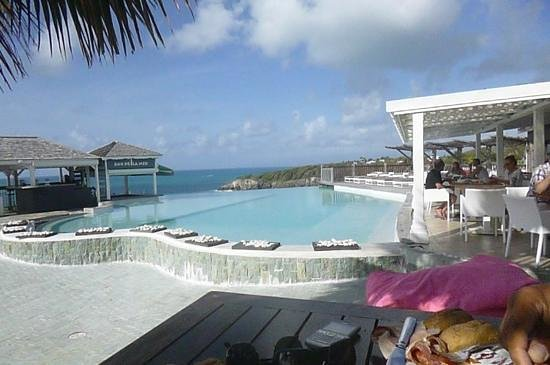 La Toubana Hotel & Spa: petit dej au bord de la piscine !